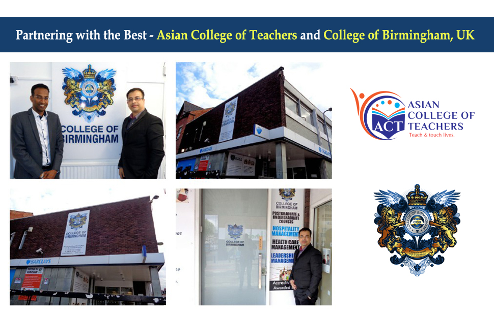 Asian College Of Teachers Act Is Proud To Announce The Valued