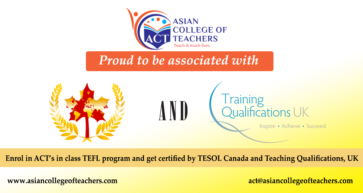 teachers training course – act