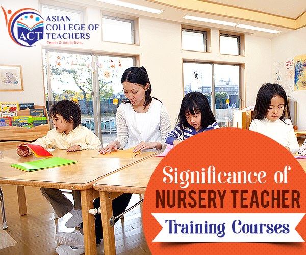 Nursery Teacher Training Courses